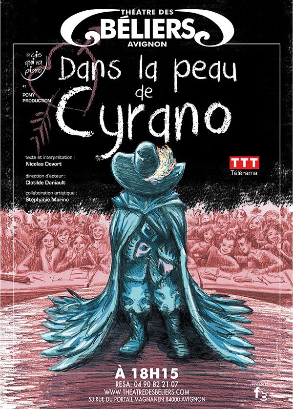 Affiche Dans la peau de Cyrano