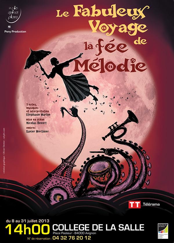Affiche Le fabuleux voyage de la Fée Mélodie