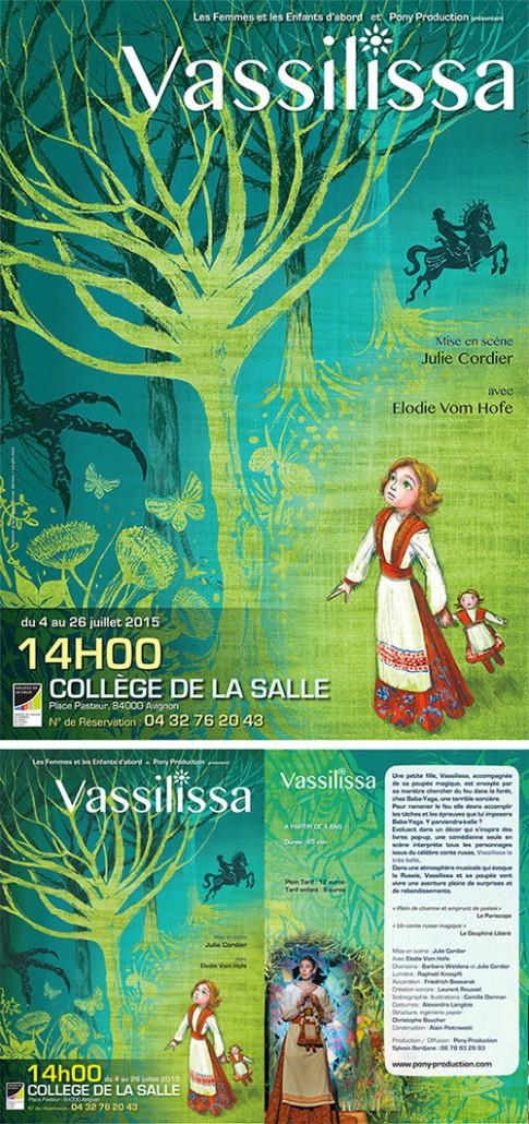Affiche et tract Vassilissa