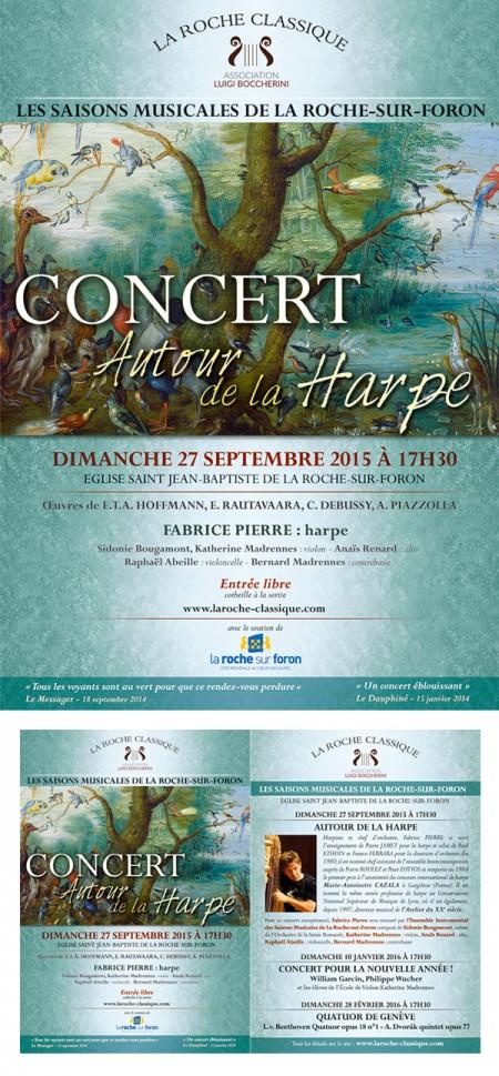 affiche concert La Roche Classique 3