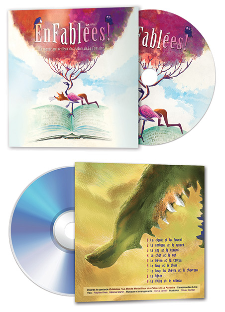 Pochette CD Enfablées