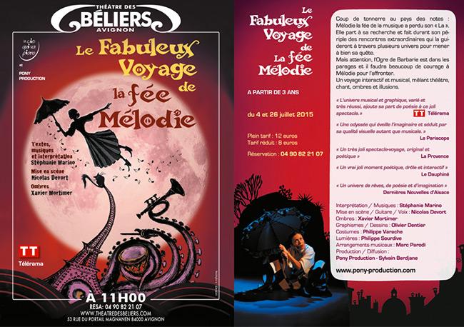 Tract Le Fabuleux Voyage de la Fée Mélodie