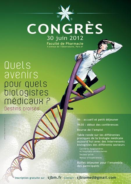 Affiche Congrés SJBM 2012