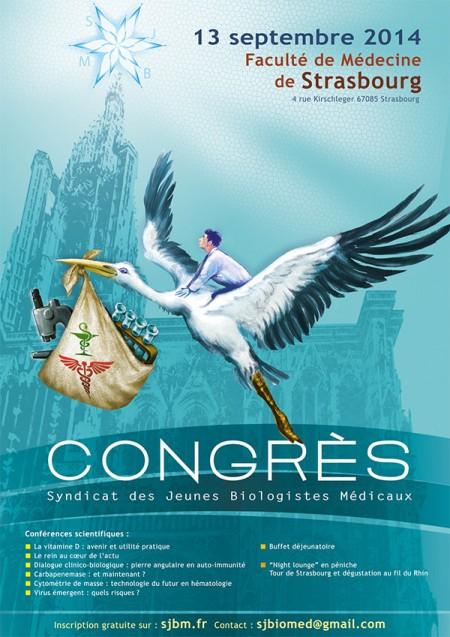 Affiche Congrès SJBM 2014