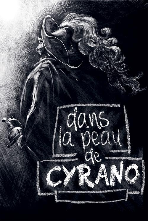 recherche visuel pour le spectacle Dans la peau de Cyrano