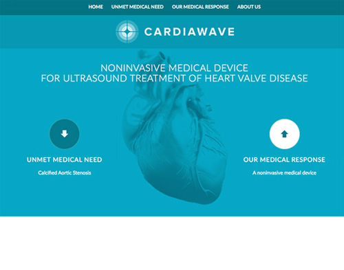 page accueil site Cardiawave
