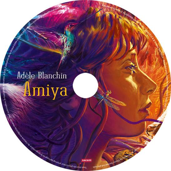 rond CD Amiya - Adèle Blanchin