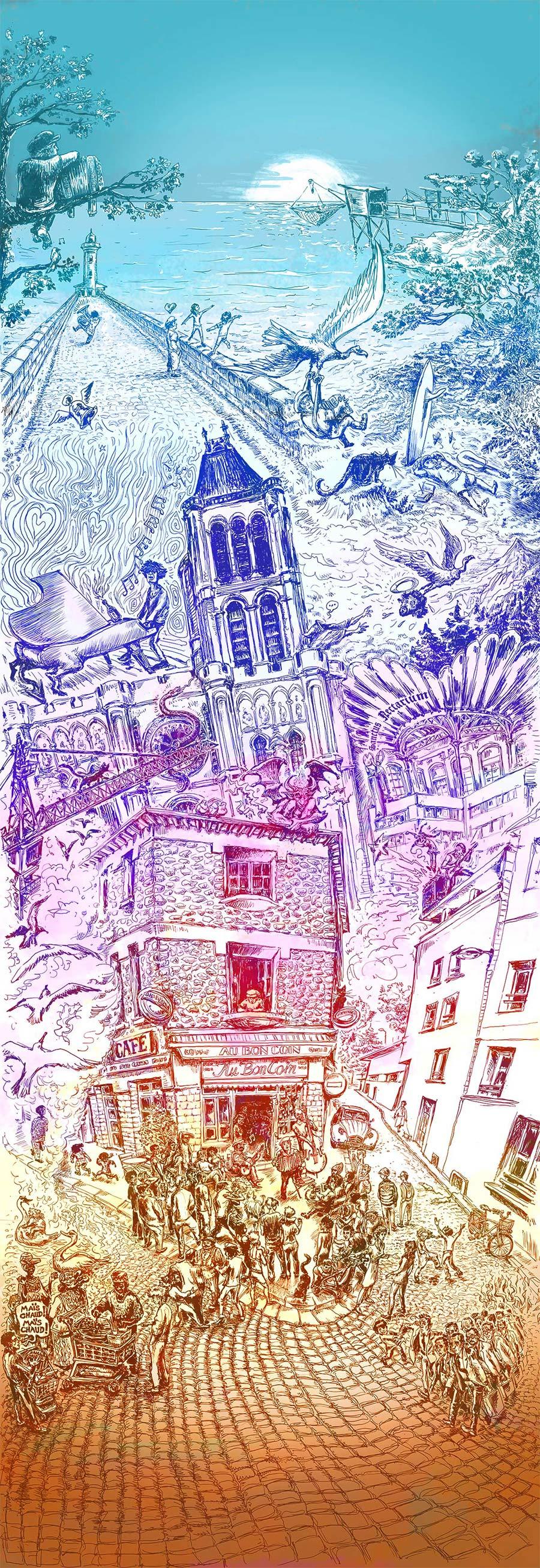 illustration website Fanch couleur